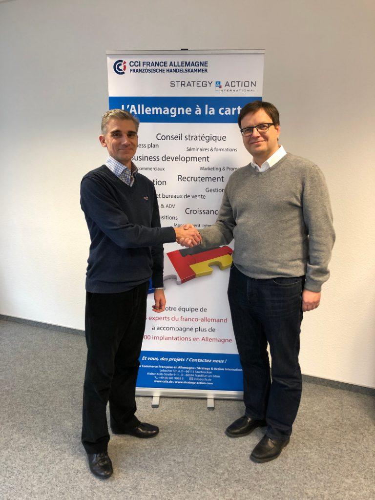 Partnerschaft zwischen der Französischen Außenhandelskammer in Deutschland und Adieu-Arche-B Marketing