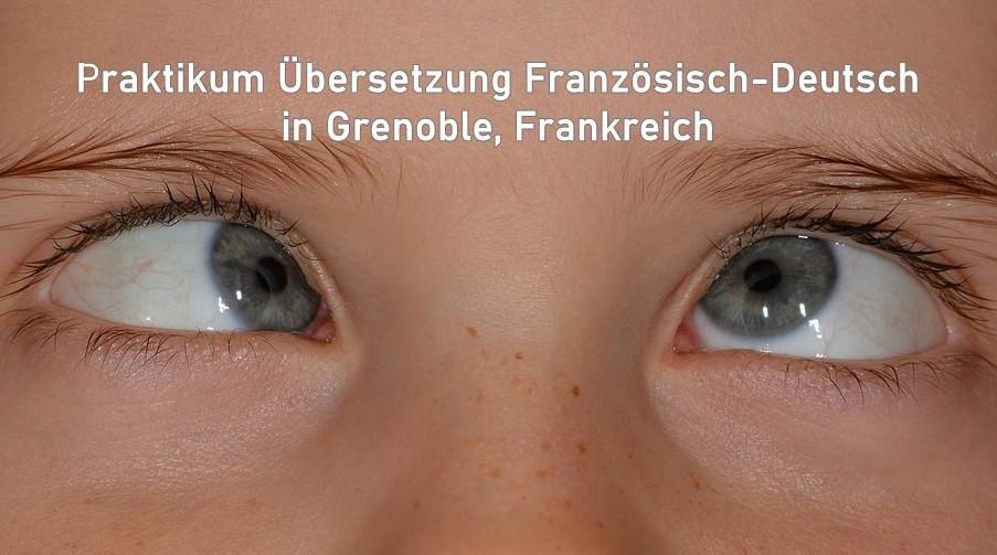 Praktikum Übersetzung Französisch-Deutsch, Englisch Deutsch (mind. 3 Monate) in Grenoble/Frankreich